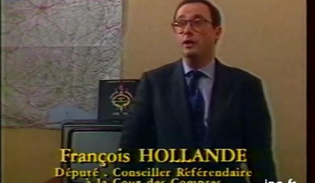 1989 Francois Hollande expliquait comment il gagnait sa vie a ne rien foutre
