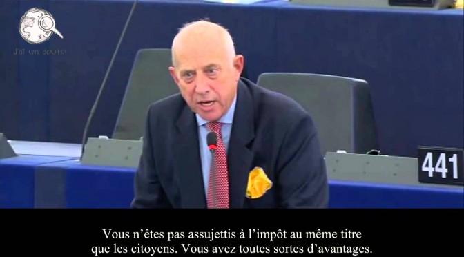 Eurodéputé: Les gens vont vous pendre et ils auront raison…